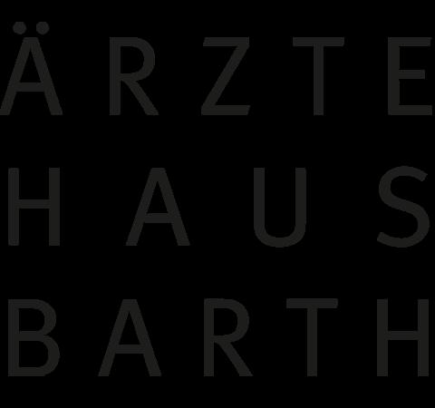 Signet des Ärztehauses Barth Königsbrück